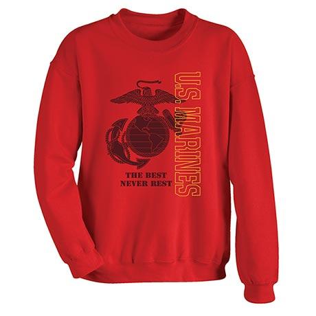 Military Marines Sweatshirt