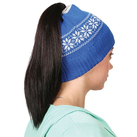 Ponytail Knit Hat