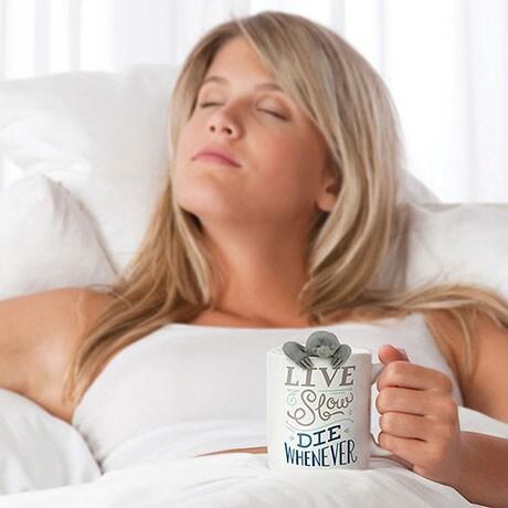 Live Slow Die Whenever Tea Mug