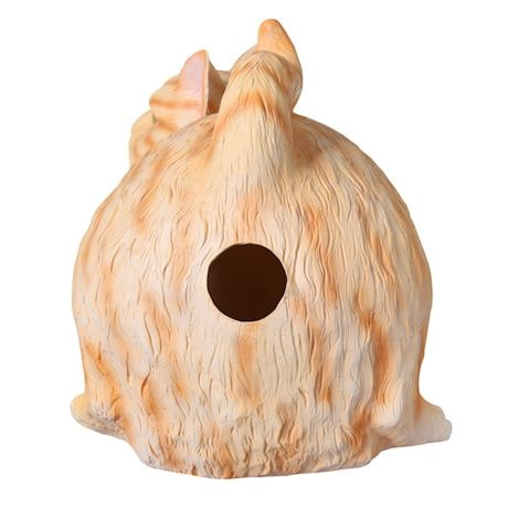 Cat Butt Tissue Dispenser - Orange Tabby