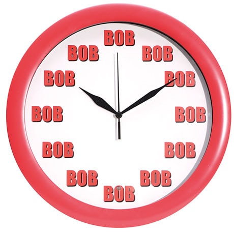 Talking Bob Clock