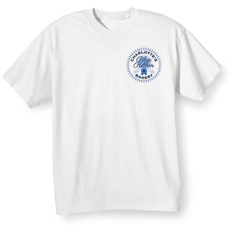 """Personalized """"Your Name"""" Blue Ribbon Bakery Shirt"""