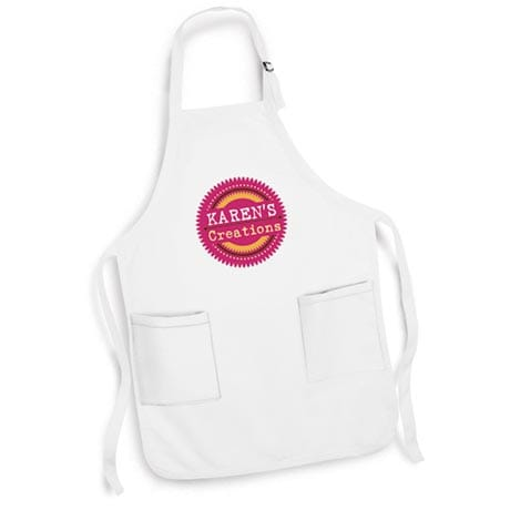 """Personalized """"Your Name"""" Creations Creative Baker & Cook Apron"""