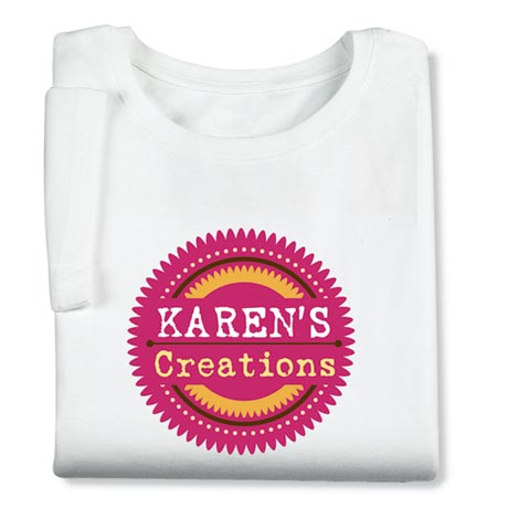 Personalized 'Your Name' Creations Creative Baker & Cook Shirt