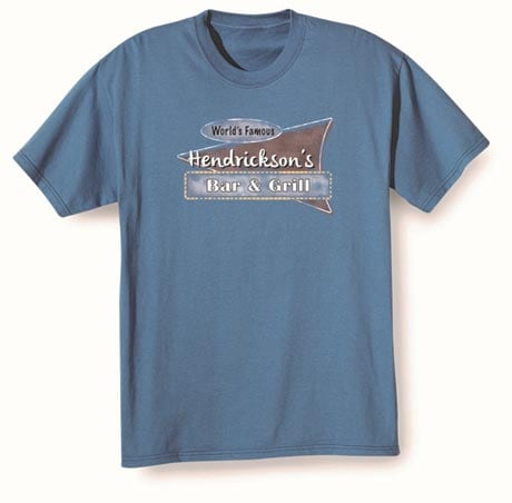 """Personalzied World Famous """"Your Name"""" Bar & Grill Shirt"""