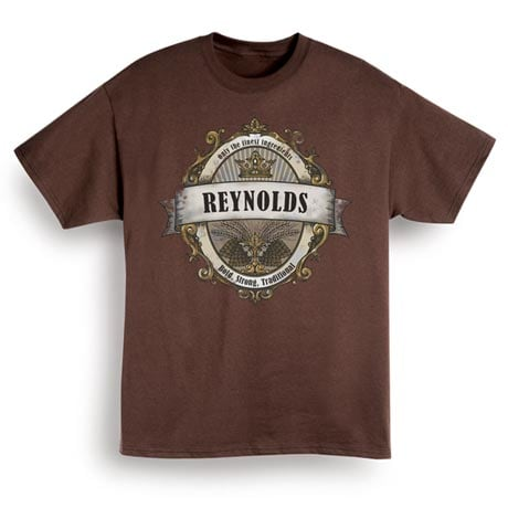 """Personalized Only the Finest Ingredients """"Your Name"""" Beer Label Shirt"""