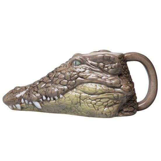 Wild 3D Animal Mugs- Crocodile