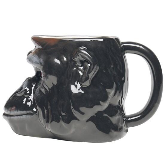 Wild 3D Animal Mugs- Gorilla
