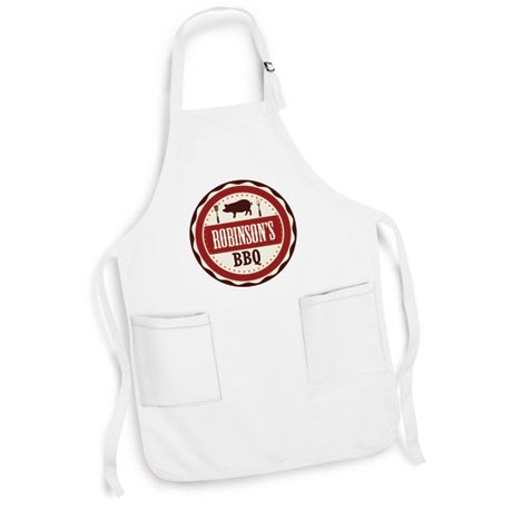 "Personalized ""Your Name"" BBQ Smoker & Griller Apron"