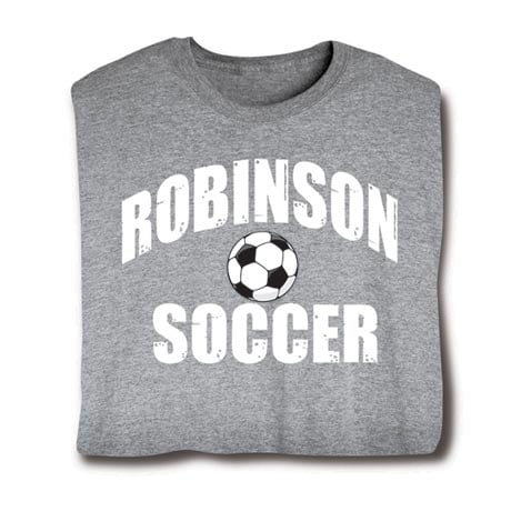 Personalized 'Your Name' Soccer T-Shirt