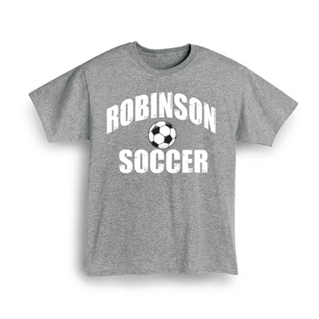 """Personalized """"Your Name"""" Soccer Shirt"""