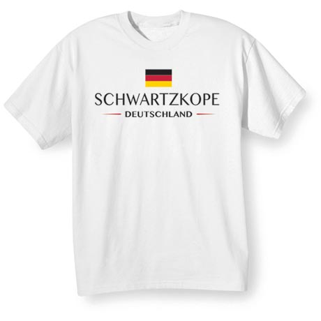 """Personalized """"Your Name"""" German National Flag Shirt"""