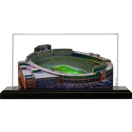 Lighted NFL Stadium