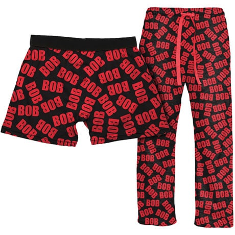Bob Sleepwear Gift Set With 1 Pair Of Lounge Pants & Boxers