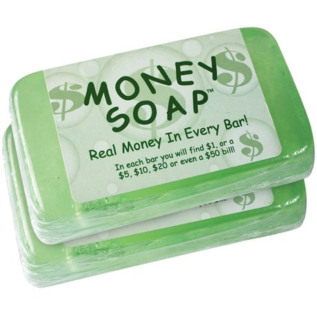 Money Soap™ Bars - Set of 2