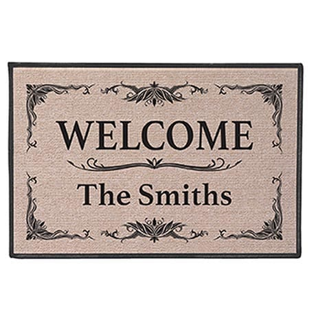 Personalized 'Your Name' Doormat - Classic