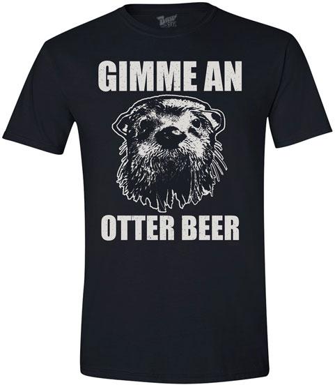 Animal Humor Tees- Otter