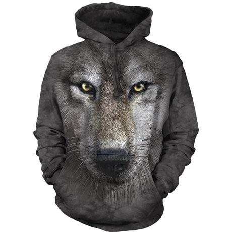 Wolf Face Hoodie