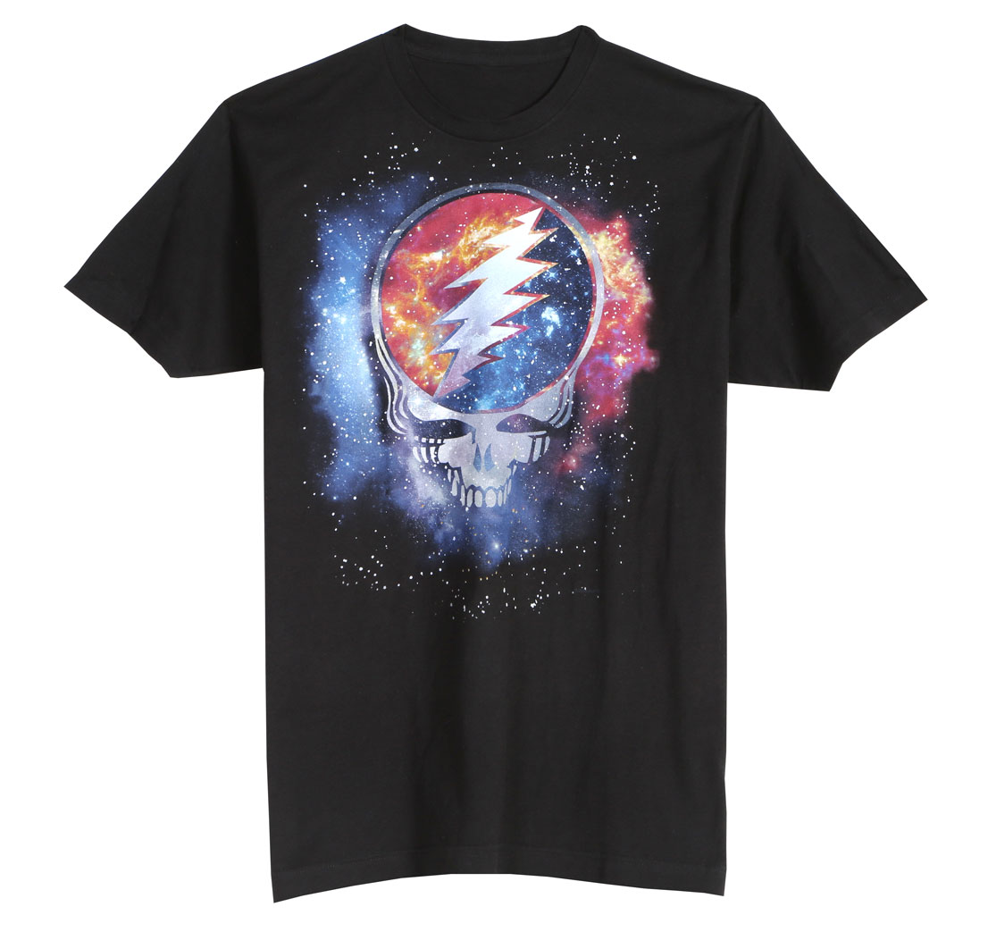 Grateful Dead Cosmic Steal Your Face Tee