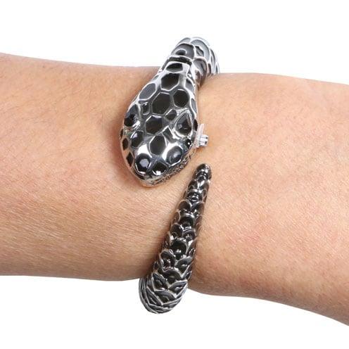 Snake Bangle Watch