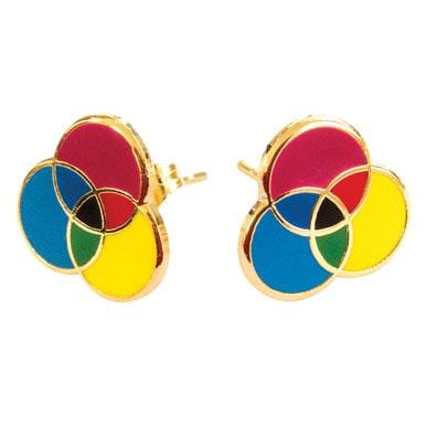 Colorwheel Earrings