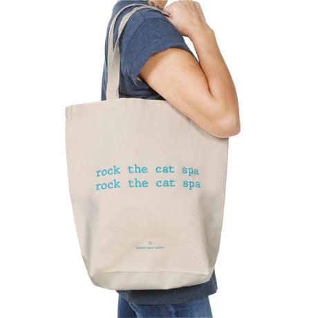 Mistaken Lyrics Tote Bags- Cat Spa