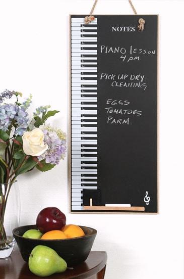 Piano Keys Chalkboard