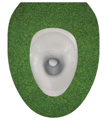 Toilet Tattoos- Golf Ball