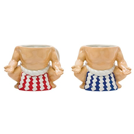Yokozuna Sumo Mug Set