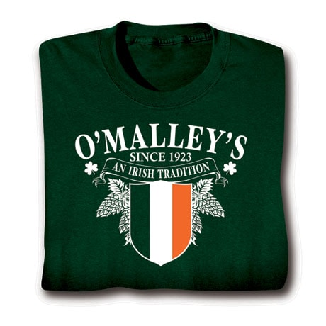 Personalized 'Your Name' Irish Tradition Shirt