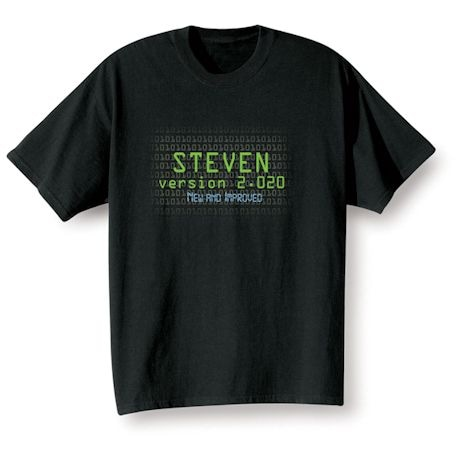 Personalized 'Your Name' Goal Shirt - Version 2.020 New and Improved