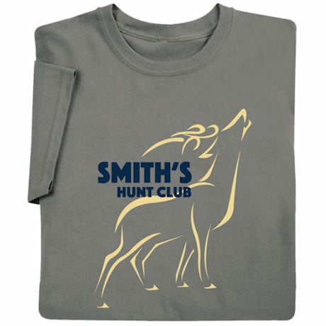Personalized 'Your Name'Hunt Club (Deer) T-Shirt