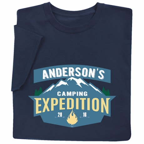 Personalized 'Your Name' Expedition T-Shirt
