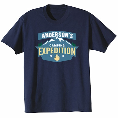 """Personalized """"Your Name"""" Expedition T-Shirt"""