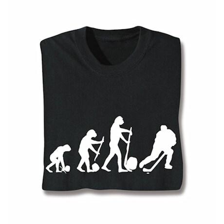 Evolution Of Sport Shirts - Hockey