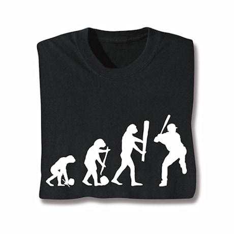 Evolution Of Sport- Baseball Tee