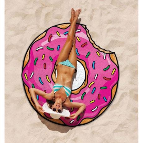 Round Beach Towel - Donut