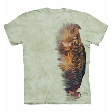 Forest Animal Tee - Owl