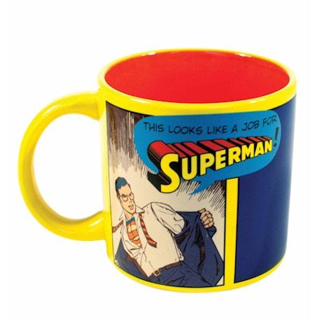 Heat-Activated Supermug - Superman