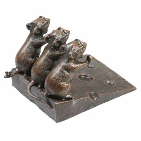 Three Blind Mice Doorstop