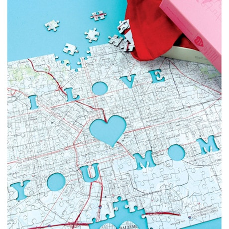 Hometown Puzzles - I Love You Mom