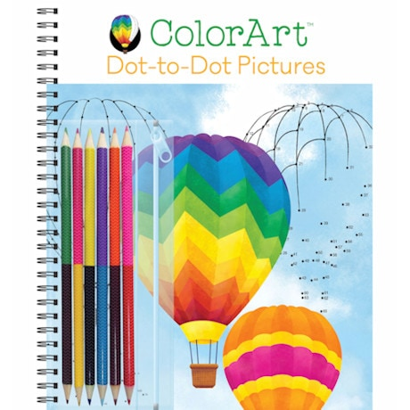 Color Art - Dot-To-Dot Pictures
