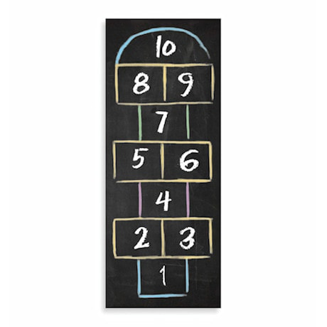 Hopscotch Runner Mat