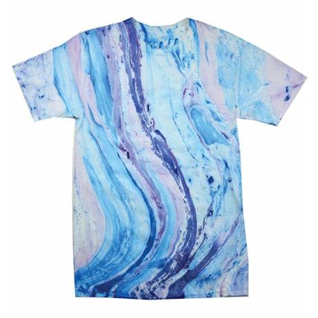 Marble Tie Dye Tee - Blue/Purple
