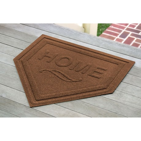Baseball Home Plate Doormat