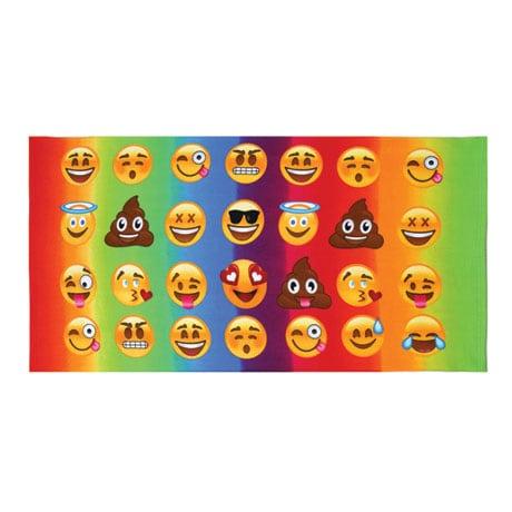 Emojicon Beach Towel