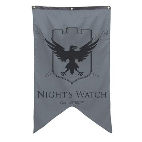 The Night's Watch Sigil Banner