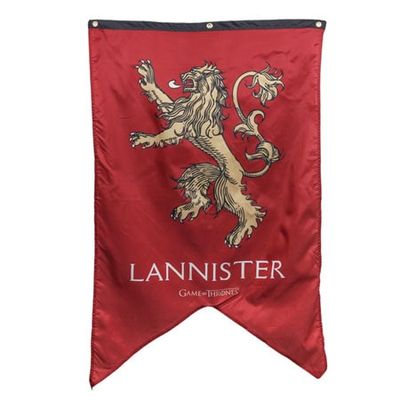 House of Lannister Sigil Banner