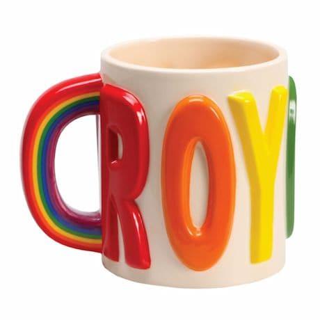 Roy-G-Biv Rainbow Mug