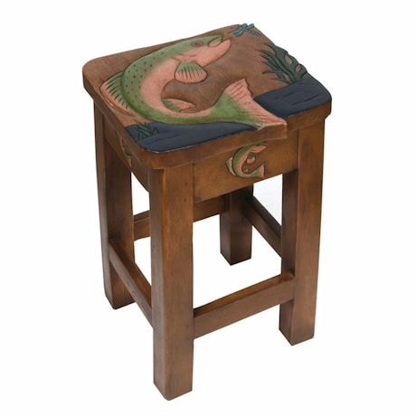 Jumping Trout Accent Table